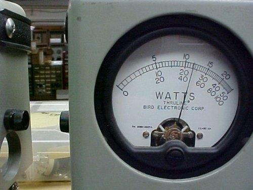 Bird watt meter