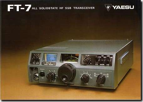 image of FT-7 radio