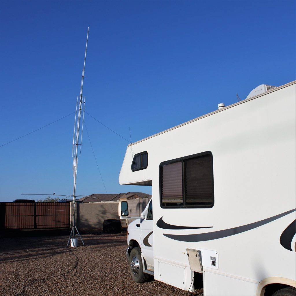 Image of the RV and GAP Titan antenna