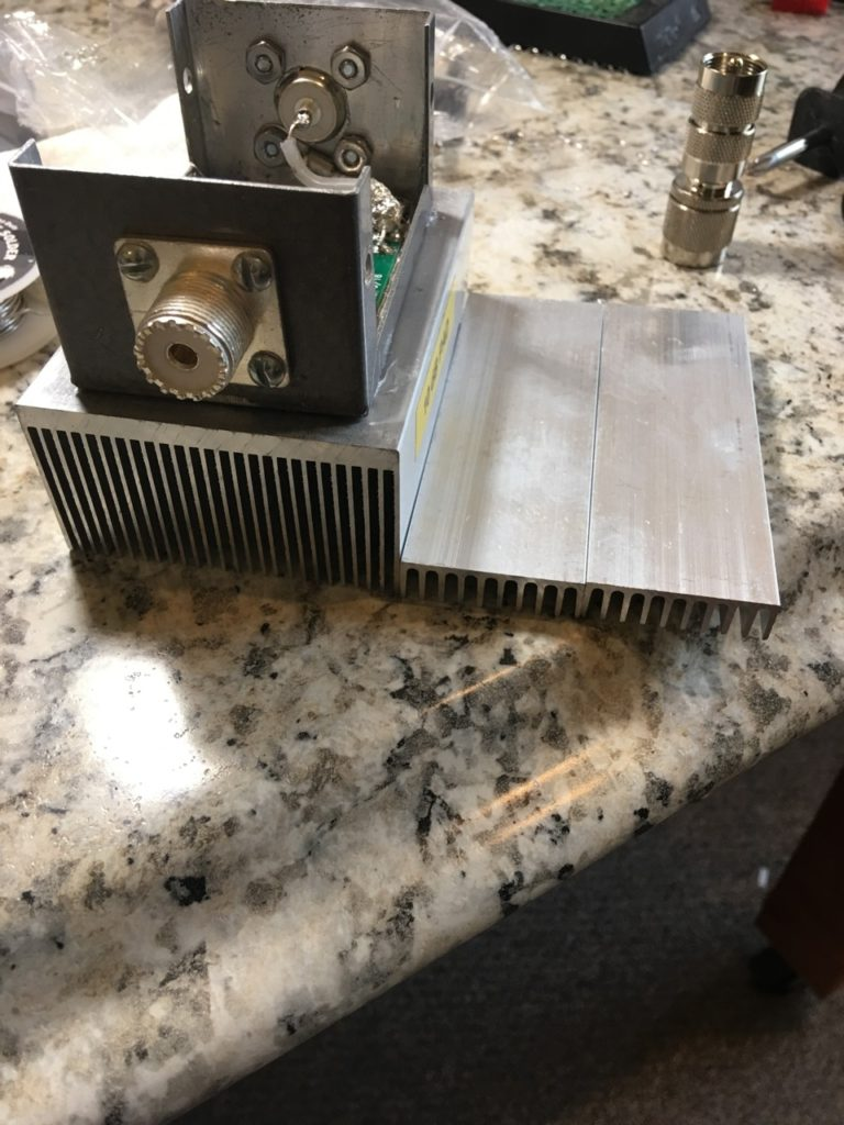 image of the old heatsink and new one.