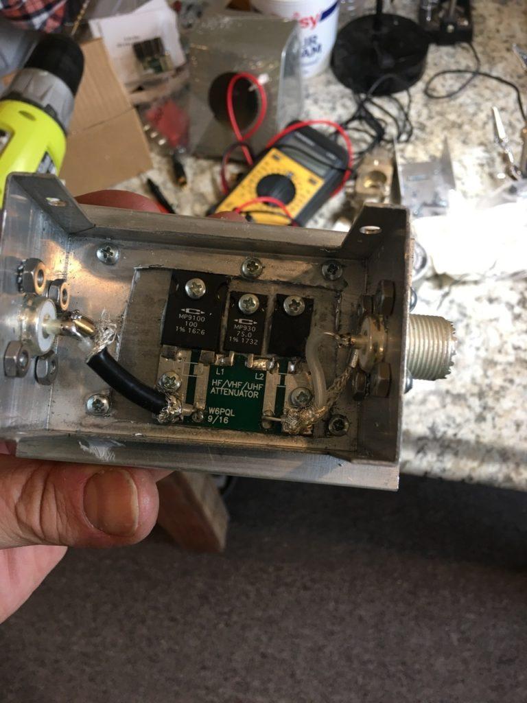attenuator in the box